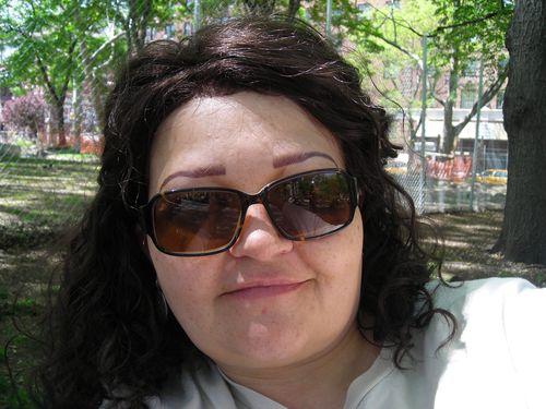 me in Washington Square Park