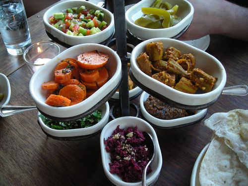 salads at zahav