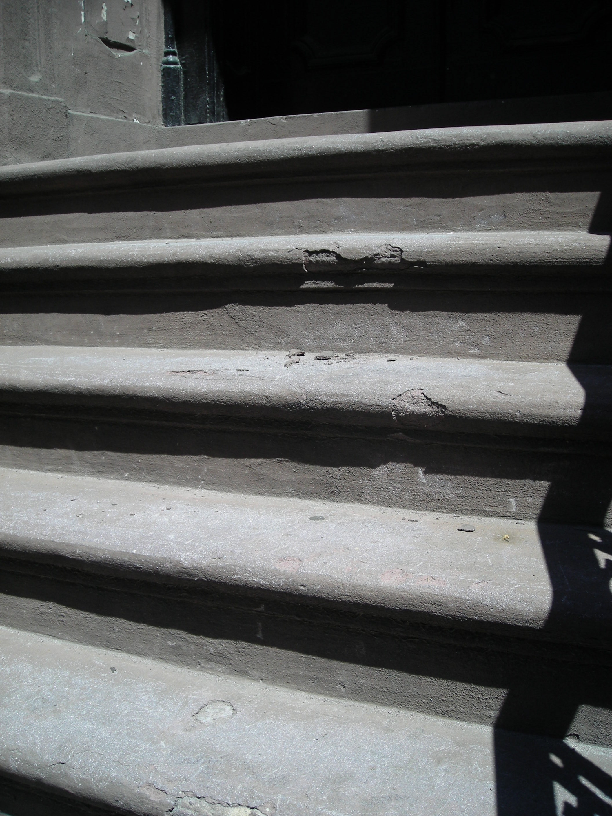 Stairs to Jack's building