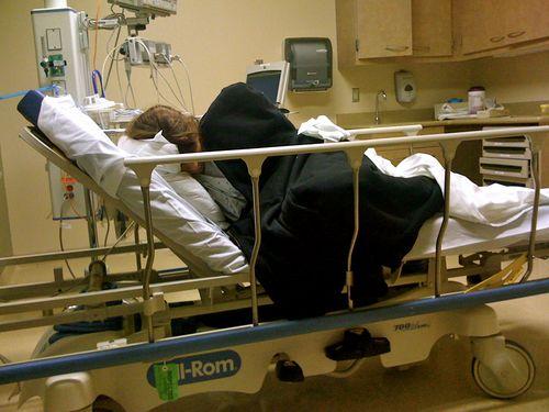 H visits the ER