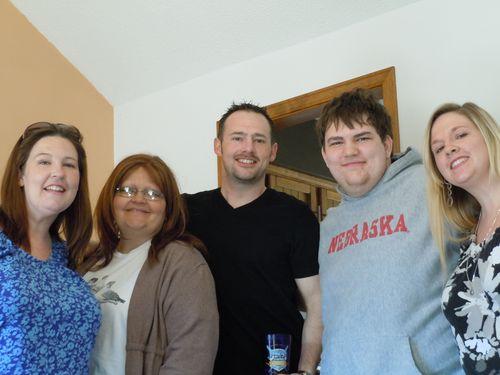 Megan, Shelly, Brian, Jared, Lindsay