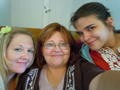 lindsay, me and hannah