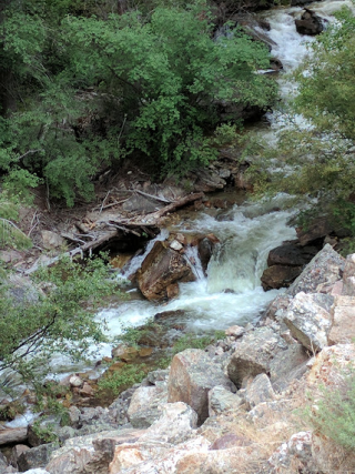 Stream along No Name, CO trail
